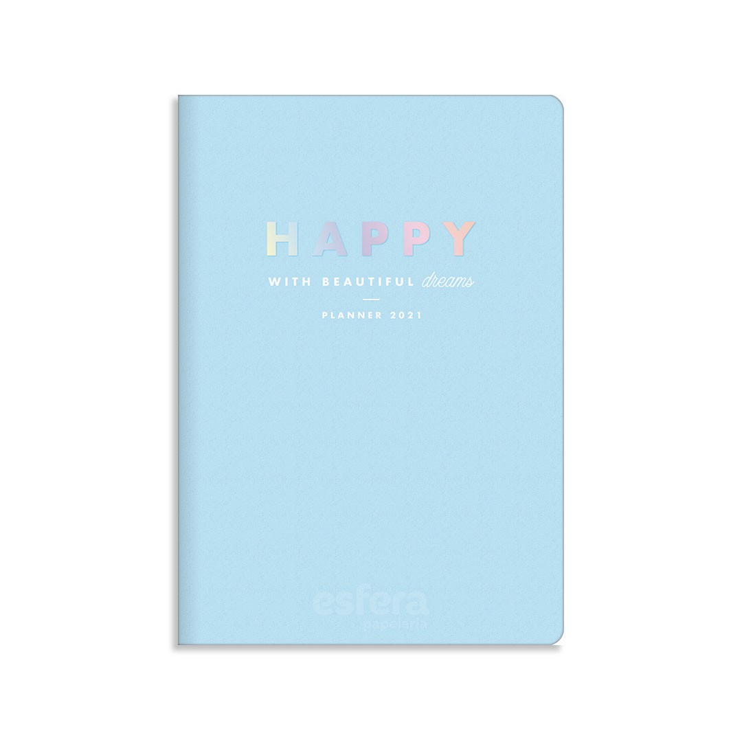 PLANNER GRAMPEADO HAPPY M7 314315 TILIBRA