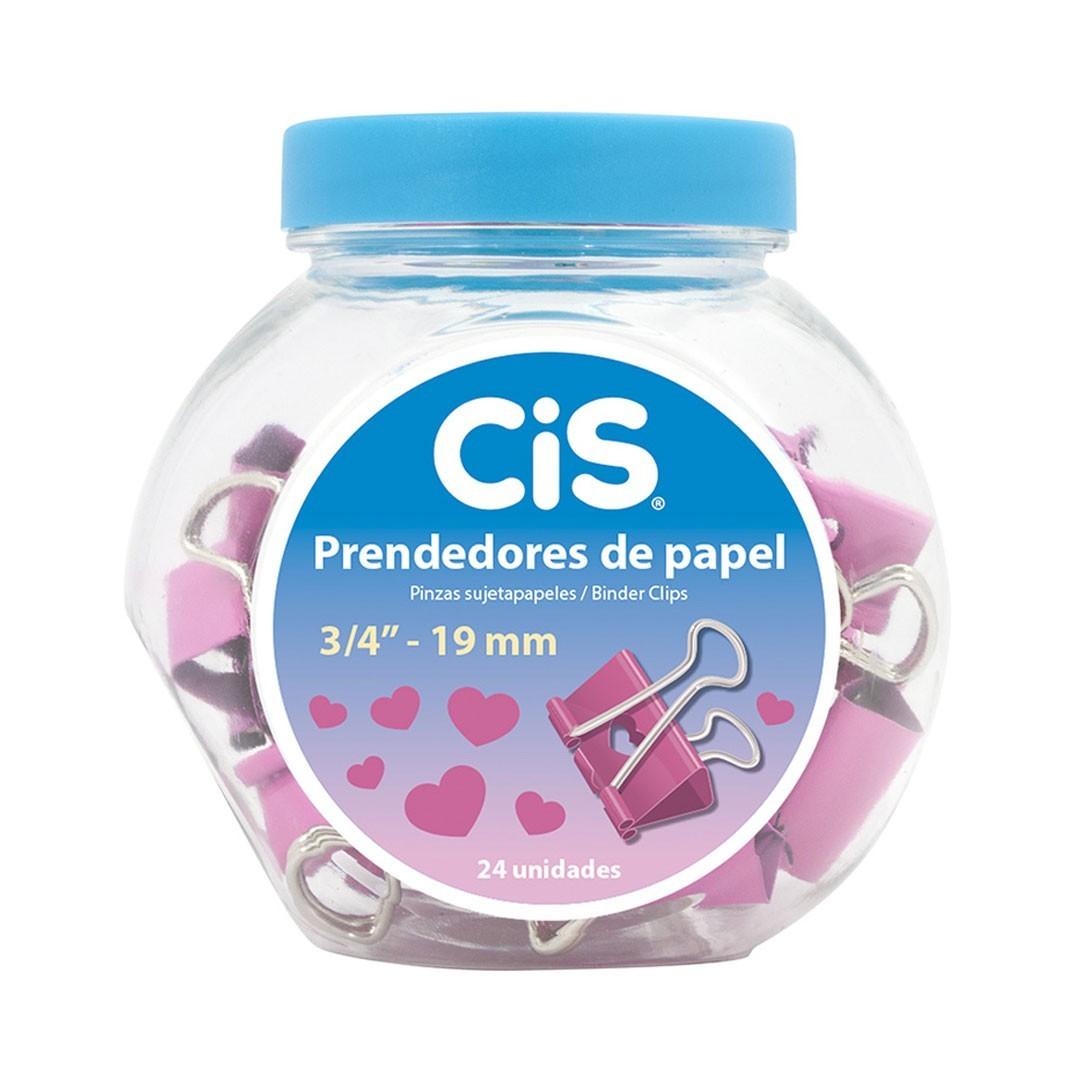 PRENDEDOR DE PAPEL 19MM CORACAO CIS