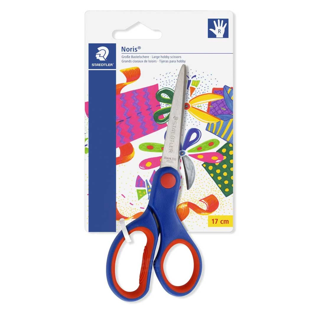 TESOURA ESCOLAR NORIS CLUB 17CM 965 17 NBK03 STAEDTLER