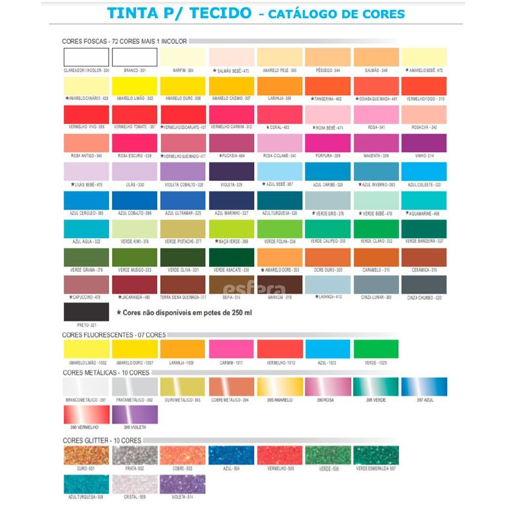 TINTA PARA TECIDO 37ML CORFIX