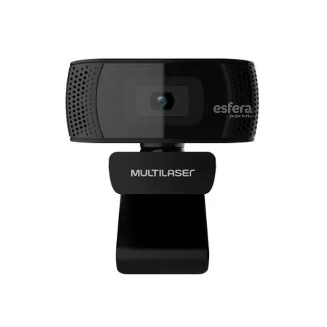 WEBCAM PLUG AND PLAY MIC USB 4K 1080P PRETO WC050 MULTILASER