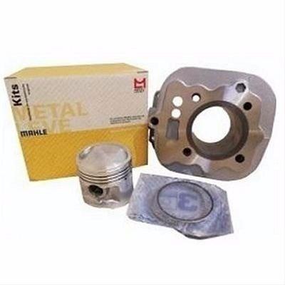 Kit Cilindro Motor Força Biz 125 06/08 Metal Leve Carburada
