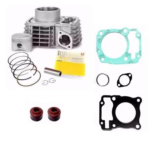 Kit Cilindro Motor Titan 150 Fan Bros Retentores Juntas