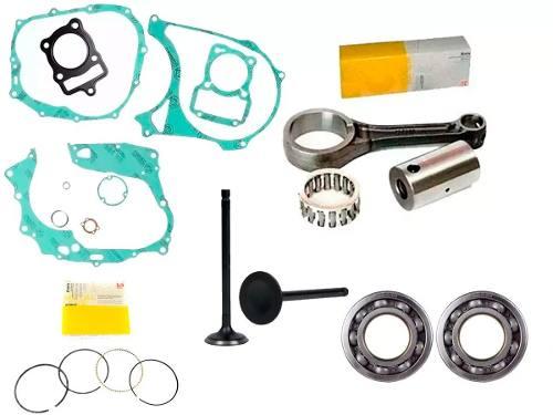 Kit Motor Biela Titan Cg 125 99 1999 Valvula Juntas Retentor