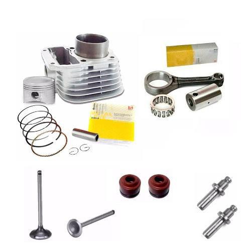 Kit Motor Biela Titan 125 99 00 01 Cilindro Valvula Retentor