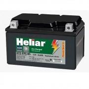 Bateria de Moto 8,6 ah Amperes Heliar HTZ10SBS