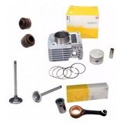 Cilindro Motor Biela Valvula Retentor Ybr Xtz 125 Metal Leve