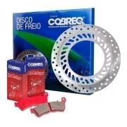 Disco de Freio CB 300 com ABS Dianteiro + Pastilhas Cobreq