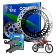 Disco de Freio CRF 230 Dianteiro + Pastilha Cobreq Original