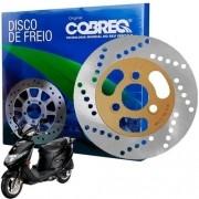 Disco de Freio Dianteiro Burgman 125 Carburada Cobreq