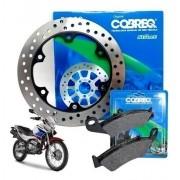 Disco de Freio Falcon NX 400 Dianteiro + Pastilha Cobreq