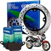 Disco de Freio Traseiro CB 300 sem ABS + Pastilhas Cobreq