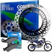 Disco de Freio XR 200 XR200 Dianteiro + Pastilha Cobreq