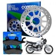 Disco de Freio Ybr 125 2000 até 2008 + Pastilha Cobreq