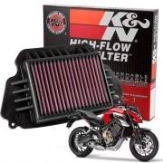 Filtro Ar K&n CB 650F CB650F 650 F Esportivo Lavável HA6414