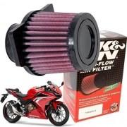 Filtro de Ar K&N CBR 500R CBR500R 500 R K N Esportivo Original