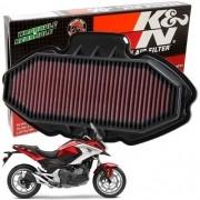 Filtro de Ar K&N NC700X NC 700X NC700 700 x Esportivo