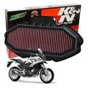 Filtro de Ar K&N NC750X NC 750X NC750 750 X Esportivo
