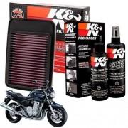 Filtro de Ar K&N Suzuki Bandit 1200 Esportivo + Kit Limpeza