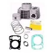 Kit Cilindro Motor Titan 150 Bros 150 Metal Leve + Juntas