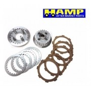 Kit Embreagem Titan 125 Fan 125 até 2008 Original Hamp Honda