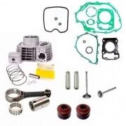 Kit Motor Titan 150 Fan 150 Bros 150 Biela Valvulas Juntas