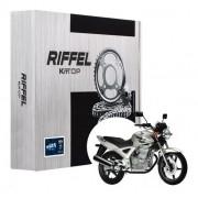Kit Relação CBX 250 Twister Com Retentor Riffel Tração Transmissão