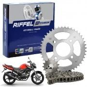 Kit Relação Factor 150 Tração Transmissão Riffel aço 1045