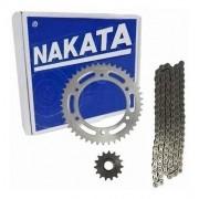 Kit Relação Fazer 250 Todas Tração Transmissão Nakata