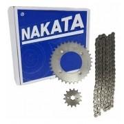 Kit Relação Tração Transmissão Biz 125 2005-2016 Nakata