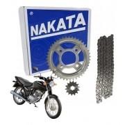 Kit Relação Tração Transmissão Cg Fan Titan 125 2009 Nakata