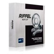 Kit Relação Transmissão Tração Xlr 125 Com Retentor Riffel