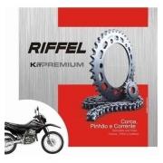 Kit Relação Transmissão Tração Xr 250 Tornado Riffel Premium