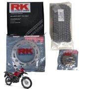 Kit Relação Xre 190 Com Retentor RK Tração Transmissão