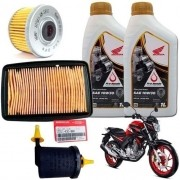 Kit Revisão CB 250F Twister Filtro Ar Óleo Combustível Honda