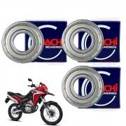 Kit Rolamento de Roda Traseira XRE 300 Todas Nachi Original