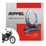 Kit Tração Relação Transmissão Factor 125 Ybr 125 Todas Riffel
