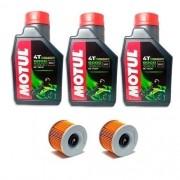 Kit Troca De Óleo+filtro 250 Motul 5000 10w30