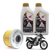 Kit Troca Oleo + Filtro de Óleo XRE 300 10W30