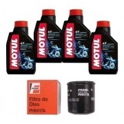 Kit Troca Oleo + Filtro Fram Ph6017 Xj6 Motul 3000 20w50