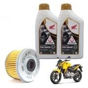 Kit Troca Oleo + Filtro HAMP CB 300 10W30