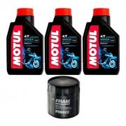 Kit Troca Oleo Harley Davidson Iron883 Motul 3000 20w50