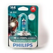 Lâmpada H4 Philips Xtreme Vision Moto 60/55W