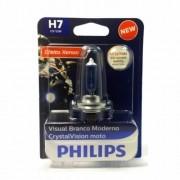 Lâmpada Philips Extraduty Crystal Vision H7 55w Efeito Xenon