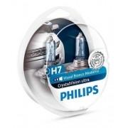 Lampada Philips Super Branca Crystal Vision Hornet H7 55w