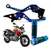 Manete Spencer + Manopla Estrela CB 300 Honda CB300 Todas