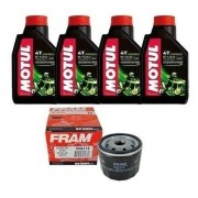 Óleo Filtro Fram Bmw R1200 Gs 04-12 Motul 5100 15w50 Ph6114