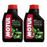 Oleo Motul 5100 15w50 Semissintético 4t Ester 2 Litros