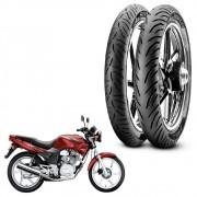 Par Pneus Pirelli Cbx 200 Strada 90/90-18 + 80/100-18 Super City TL