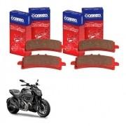 Pastilha de Freio Dianteiro Ducati Diavel 1200 2011-2018 Cobreq
